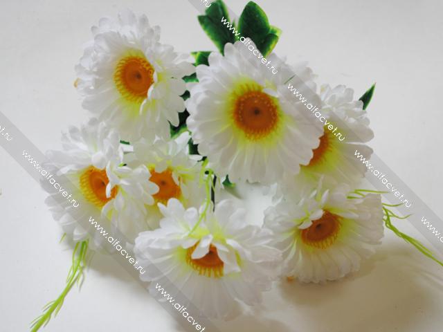 Искусственные цветы ромашки купить цветы с доставкой магазин цветы заказ цветов москва букеты свадебные